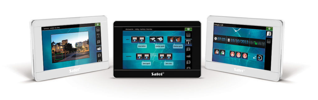 touchscreen satel domotica